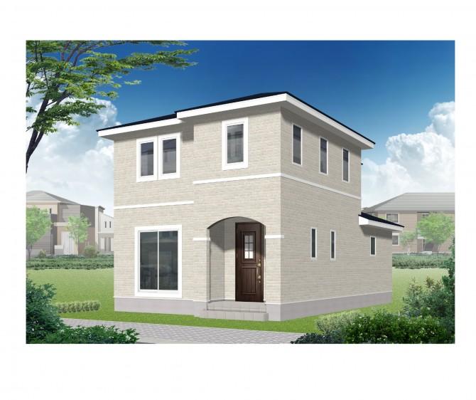 喜多方市花園新築モデルハウス
