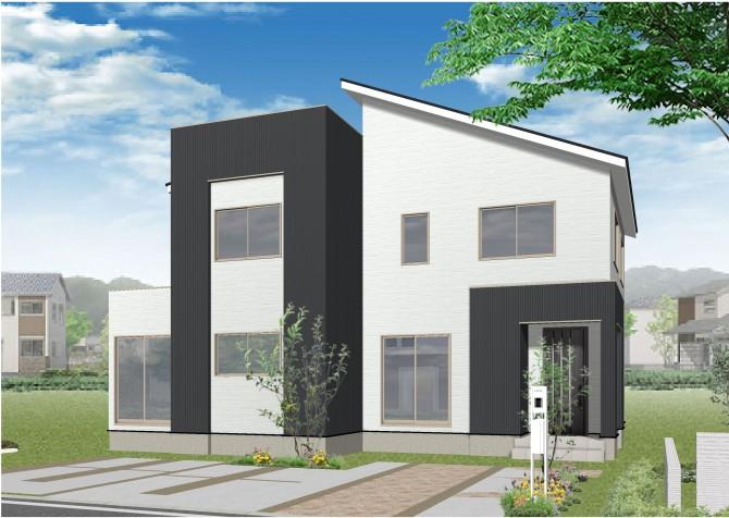 一箕町亀賀モデルハウス